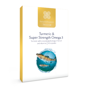Turmeric & Super Strength Omega 3 - 60 capsules