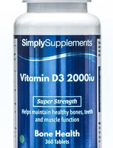 Vitamin D3 2000iu (120 Tablets)