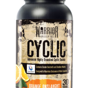 Warrior Cyclic - 30 Servings-Orange Onslaught Bodybuilding Warehouse Supplements