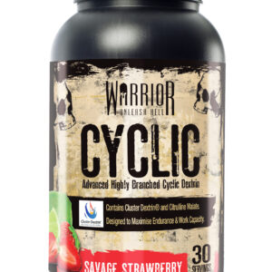 Warrior Cyclic - 30 Servings-Savage Strawberry Bodybuilding Warehouse Supplements