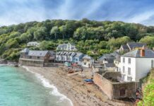 Best beach staycation Rame Peninsula