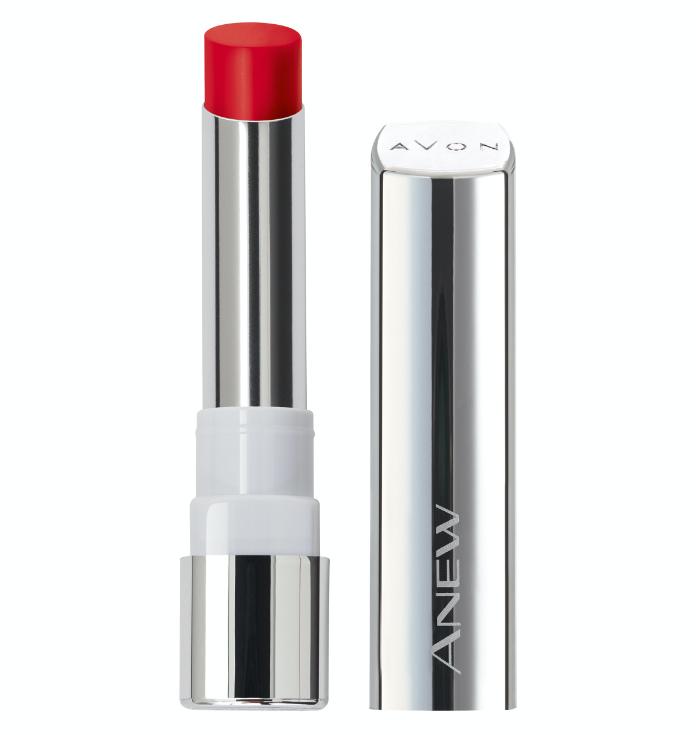 Avon red lipstick