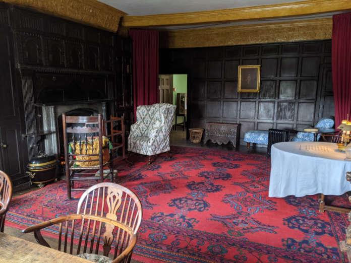 Boscobel House interior