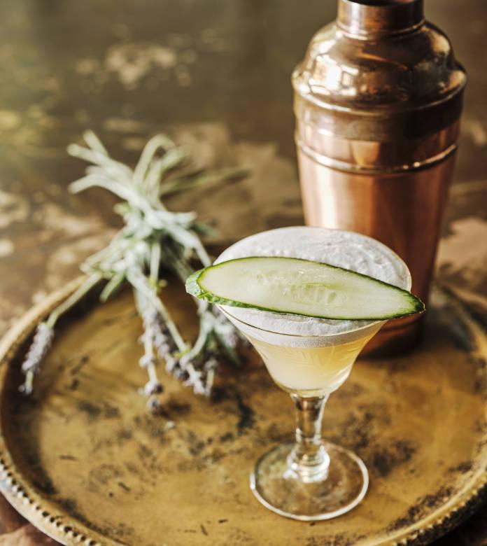 Cocktails Garden Martini
