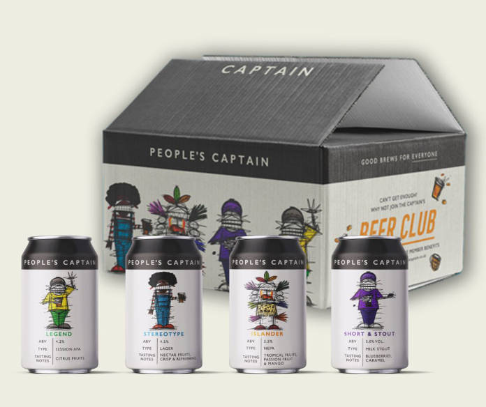 People's Captain Mixed Case