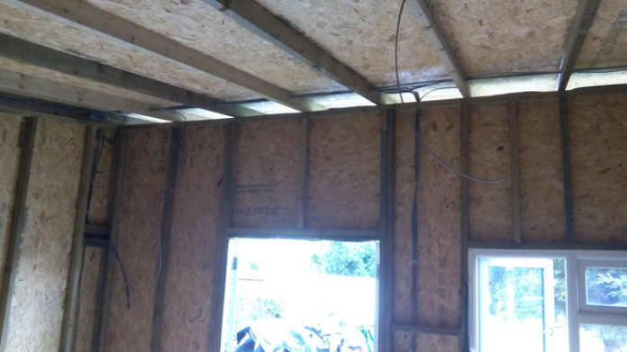 Home office electrics