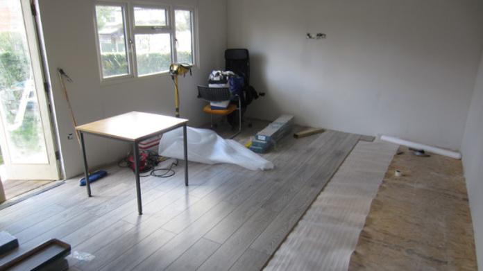 Home office floor