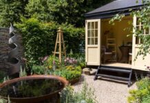Build home office in garden