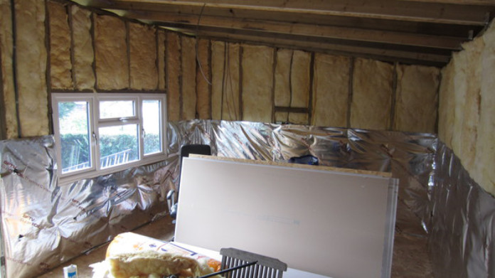 Home office insulation