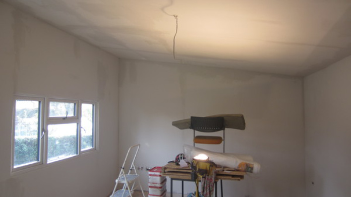Home office plasterboard