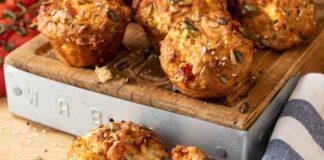 Tomato & Cheese Muffins