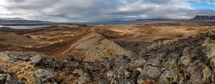 Borgarvirki Iceland
