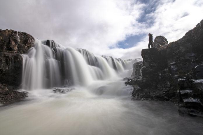 Kolufoss waterfall