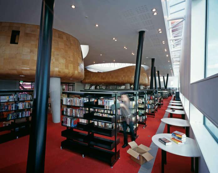 Inside Peckham Library
