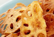 New snacks Lotus Root crisps