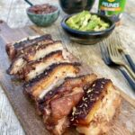 Jack Monroe's spicy pork belly with prune chutney