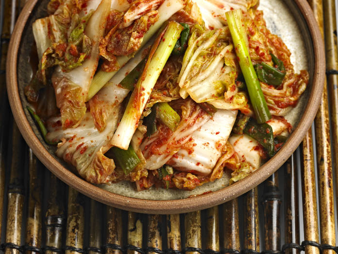 Superfood – Close up of Kimchi.