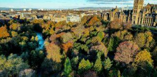Urban green space Glasgow