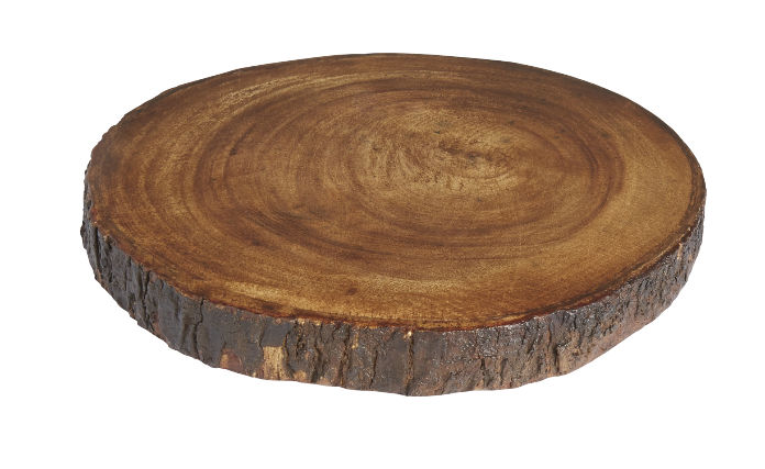 Round wooden chopping board, £14,99, Homesense