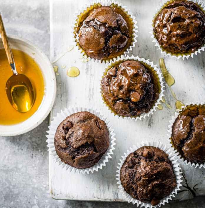 Banana chocolate muffins recipe