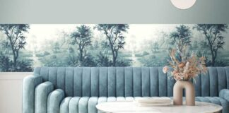 Nidra Ink Border wallpaper from Woodchip & Magnolia (Woodchip & Magnolia/PA)