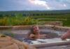 Create a garden spa