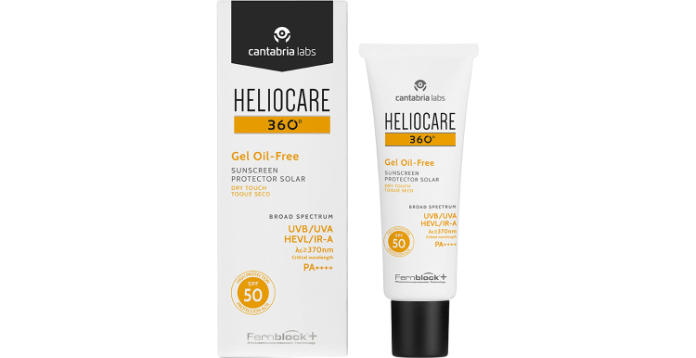 Heliocare 360° Oil Free Gel