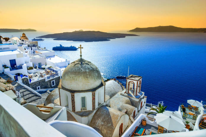 Summer holiday greece