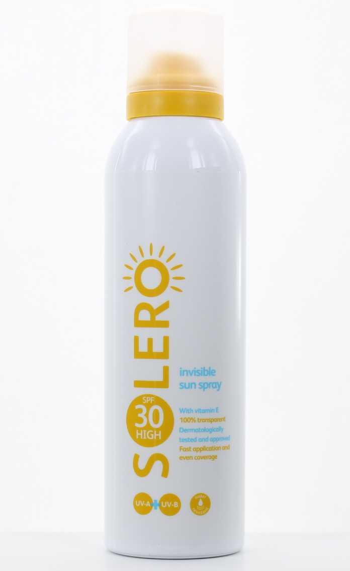 Lloyds Pharmacy Solero Invisible Sun Spray SPF 30