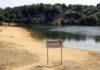 water safety tips Bawsey Pits near Kings Lynn, Norfolk