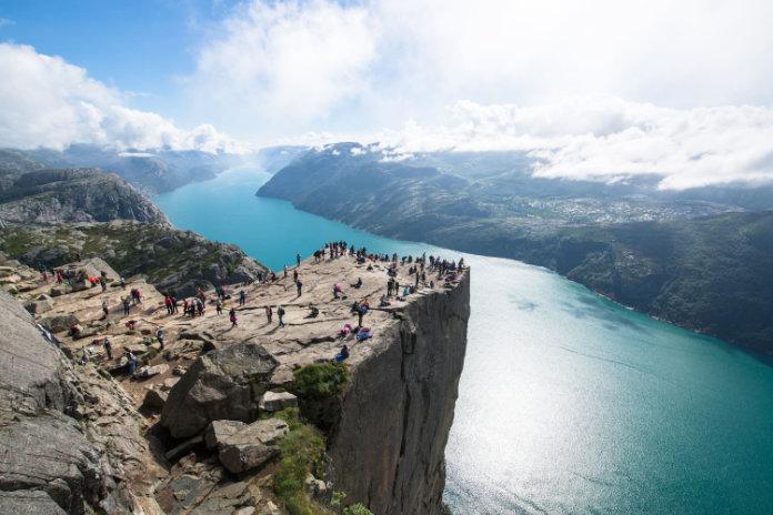 The best view for Preikestolen, Norway