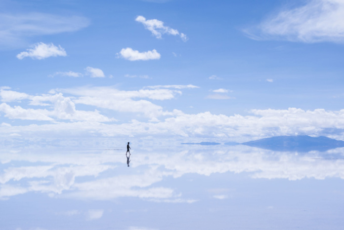 One of the best views for  Salar de Uyuni, Bolivia