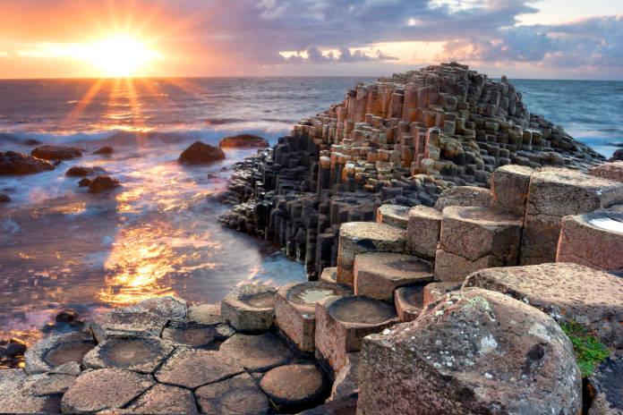 Giants Causeways in Northern Ireland