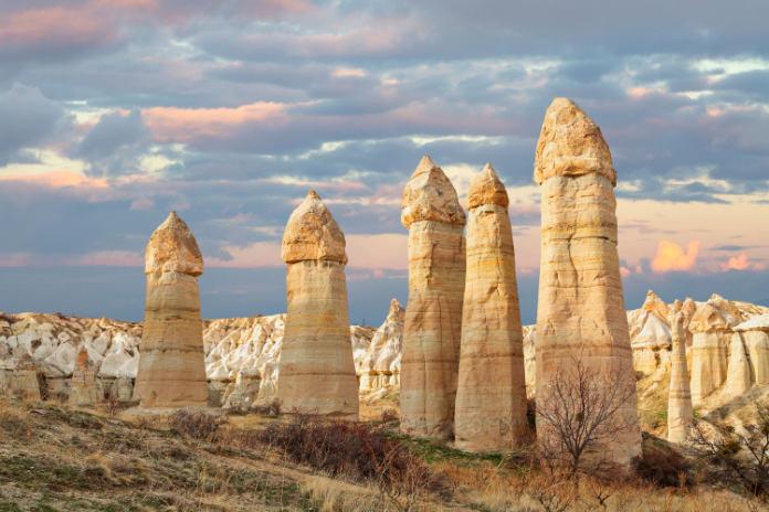 Goreme Fairy Chimneys in Turkey