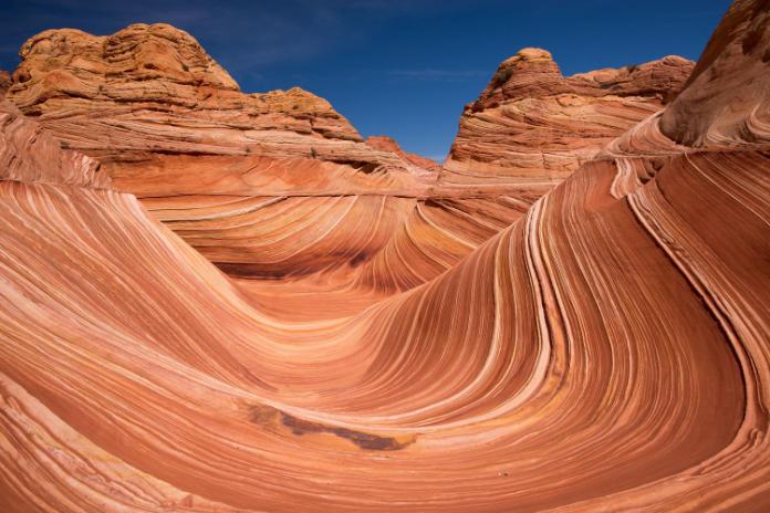 Vermilion Cliffs famous rock formation