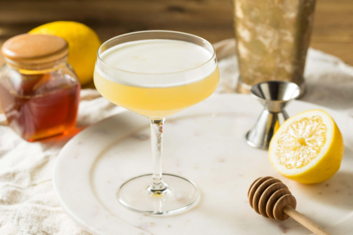 The Bees Knees gin cocktails