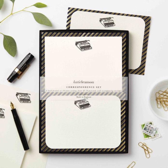 Katie Leamon Correspondence Set, Typewriter, £25, Katie Leamon