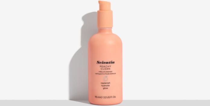 Scientia Peachy Clean Milky Oil Cleanser
