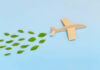 A wooden plane representing sustainable travel companies