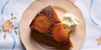 Caramelised Apricot Cake
