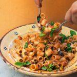 Midsummer pasta