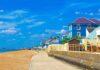 The landscape of sandgate beach