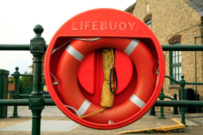 Swimming safety lifebuoy