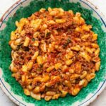 cavatelli with sausage, mint and tomato recipe