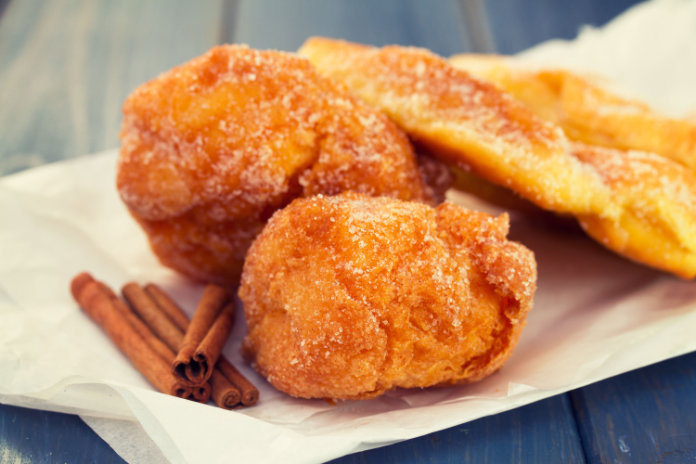 Sonhos: a type of doughnut from Portugal