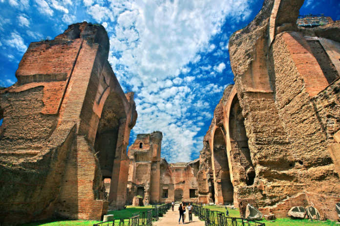 The Baths of Caracalla, a lesser-known sight of rome