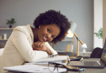 Women maintaining work motivation