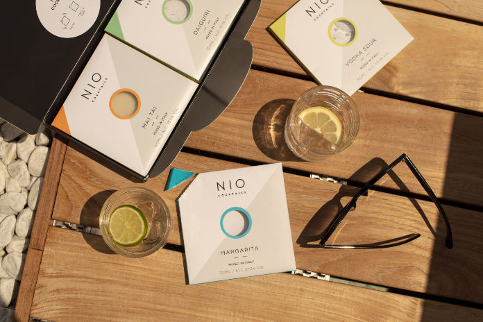 A collection of  NIO letter box cocktails