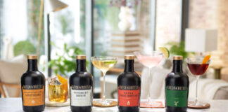 A collection of ready to drink cocktails