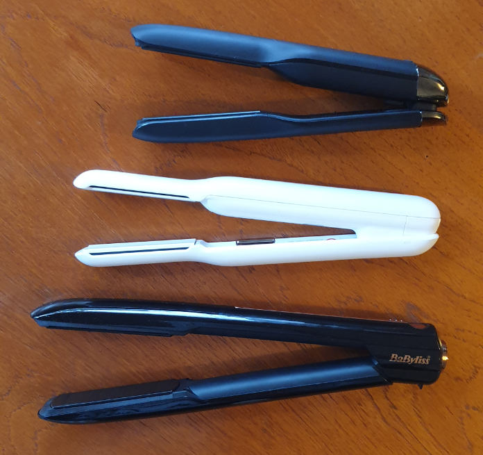 GHD Unplugged; Cloud Nine The Cordless Iron Pro; Babyliss 9000